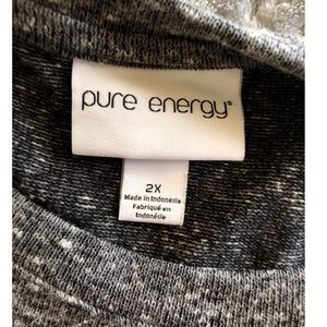Pure Energy Dresses - Pure Energy Drawstring Waist Dress Size 2X